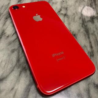 アイフォーン(iPhone)のiPhone 8 64GB RED au(スマートフォン本体)