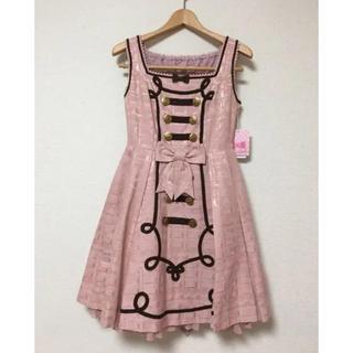 アンジェリックプリティー(Angelic Pretty)のMelty Whip Chocolateジャンパースカート(ひざ丈ワンピース)