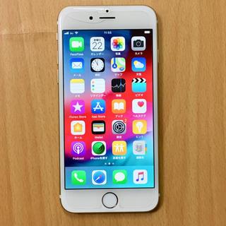アイフォーン(iPhone)のiPhone 6 本体 64GB ゴールド【au】(スマートフォン本体)