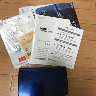 ニンテンドー3DS(ニンテンドー3DS)の任天堂 3DS LL 青(携帯用ゲーム本体)