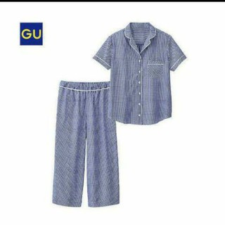 ジーユー(GU)のジーユー ギンガムチェックパジャマ(ルームウェア)