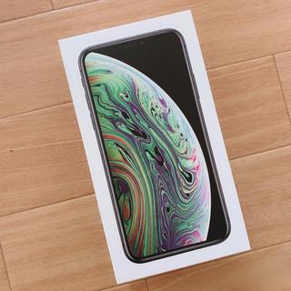 アップル(Apple)のau iPhonexs Space Gray 256GB(スマートフォン本体)