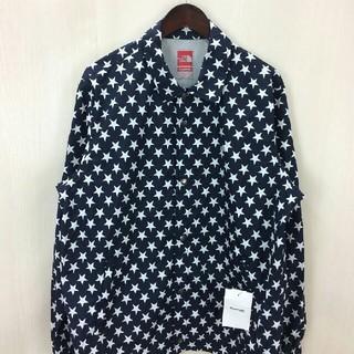 シュプリーム(Supreme)のSupreme the north face 星柄 coaches jacket(ナイロンジャケット)