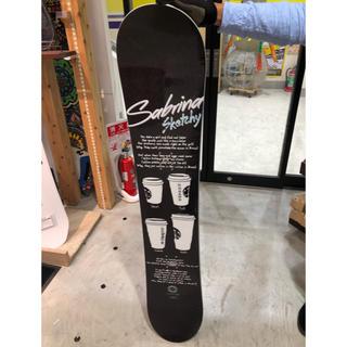 サブリナ(Sabrina)のスノーボード サブリナ  新品、未使用(ボード)