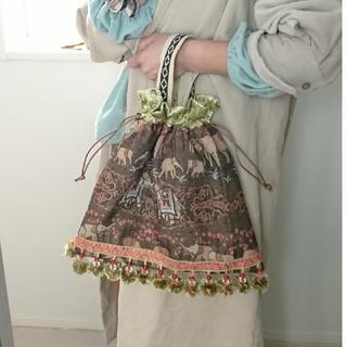 【handmade】ぞうさんバッグ(トートバッグ)