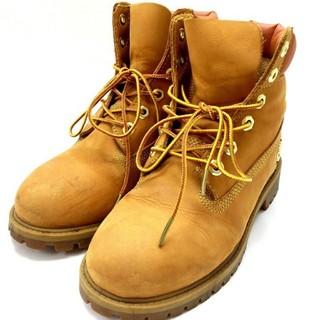 ティンバーランド(Timberland)のティンバーランド ショートブーツ 27943M/22.5cm 靴 本革(ブーツ)