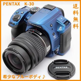 PENTAX - 【WifiSD】個性的ブルー♪極美品 PENTAX K-80 レンズキット