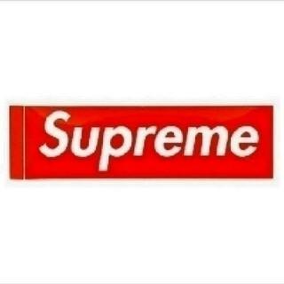 シュプリーム(Supreme)の1枚 国内正規品 ノベルティー Box Logo ステッカー Red(ステッカー)