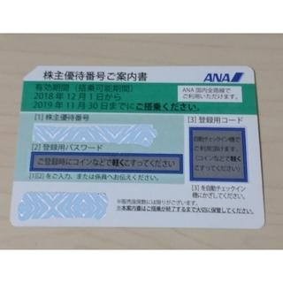 エーエヌエー(ゼンニッポンクウユ)(ANA(全日本空輸))のANA 株主優待券 1枚①(その他)
