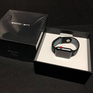 アップルウォッチ(Apple Watch)のアップルウォッチ 42mm シリーズ3 セルラーモデル(スマートフォン本体)