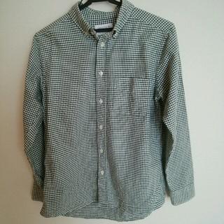 ユナイテッドアローズ(UNITED ARROWS)のユナイテッドアローズ チェックシャツ ギンガムチェックシャツ ダークグリーン(シャツ)