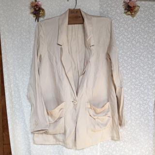 リエンダ(rienda)の感謝sale♥4334♥rienda③♥ゆったり&素敵なジャケット(テーラードジャケット)