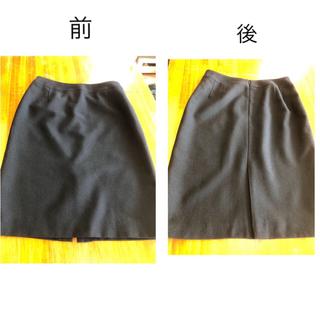 ナチュラルビューティーベーシック(NATURAL BEAUTY BASIC)のナチュラル ビューティ ベーシック スカート L 美品(ひざ丈スカート)