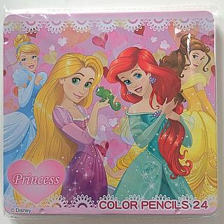 ディズニー(Disney)の新品 プリンセス 24色 色鉛筆(色鉛筆 )