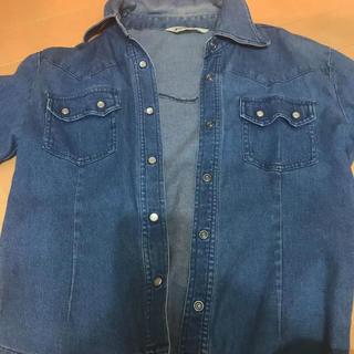 デニムジャケット シャツ(Gジャン/デニムジャケット)