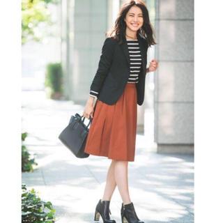 ナチュラルビューティーベーシック(NATURAL BEAUTY BASIC)の美品膝丈スカート(ひざ丈スカート)