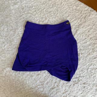ヴィヴィアンウエストウッド(Vivienne Westwood)のヴィヴィアンウエストウッド 変形スカート(ミニスカート)