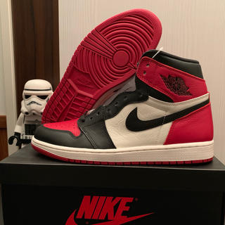 NIKE - Air Jordan 1 Retro OG Bred Toe 27.5