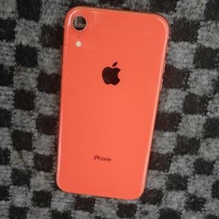 キズ無し iphone XR 64gb  au オレンジ