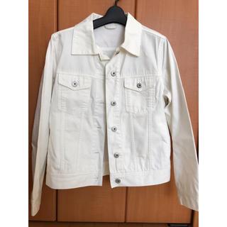 ジーユー(GU)のデニムジャケット 白 GU(Gジャン/デニムジャケット)