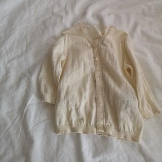 ムジルシリョウヒン(MUJI (無印良品))の無印良品/透かし編みカーディガン(カーディガン)