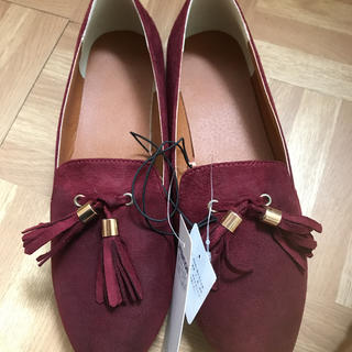 ジーユー(GU)のタッセルオペラシューズ(ローファー/革靴)