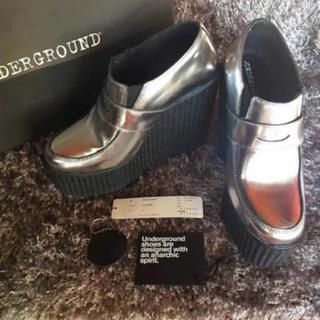 アンダーグラウンド(UNDERGROUND)のG.V.G.V. K3&Co. × UNDERGROUND ローファー 平子理沙(ローファー/革靴)