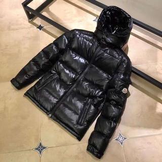 モンクレール(MONCLER)の黒 moncler 羽毛ジャケット 男女兼用 サイズ:3(ダウンジャケット)