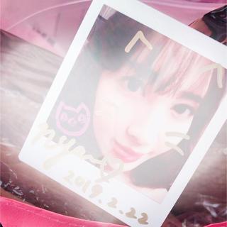 22market 小嶋陽菜 直筆サイン入りチェキ+ Happy Bag(女性タレント)
