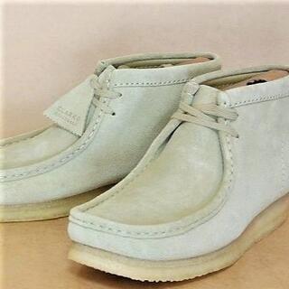 クラークス(Clarks)のClarksクラークスワラビーメープルスエード US8.0=26.0cm正規N(ブーツ)