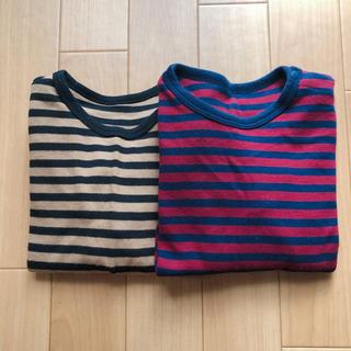 ユニクロ(UNIQLO)の美品 ユニクロ ロンTセット 90cm(Tシャツ/カットソー)