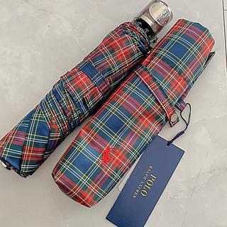 ラルフローレン(Ralph Lauren)のラルフローレン Ralph Lauren 雨用 折りたたみ傘 新品 自宅保管品(傘)