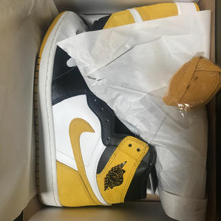 NIKE - AIR Jordan1 Retro High OG Yello Ochre