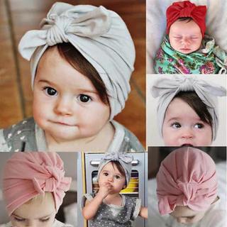 帽子 ヘアバンド  レッド、ピンク2個(帽子)