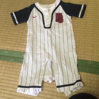 ナイキ(NIKE)のナイキ♡ベースボール ロンパース♡70サイズ(ロンパース)