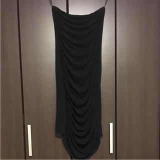 ザラ(ZARA)のワンピース 黒 ZARA(ひざ丈ワンピース)