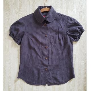 ヴィヴィアンウエストウッド(Vivienne Westwood)のぬるみ様用ドット半袖シャツ+パーカー(シャツ/ブラウス(半袖/袖なし))