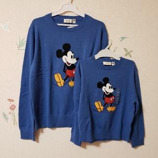 ディズニー(Disney)の新品 ミッキー セーター ユニクロ ディズニー 160(ニット/セーター)
