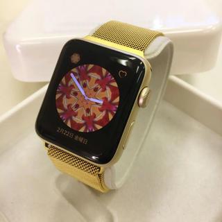 アップルウォッチ(Apple Watch)の大人気色 金 ゴールド Apple Watch series2 42mm(その他)