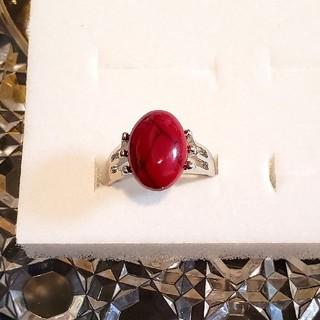 赤 ターコイズ 指輪(リング(指輪))