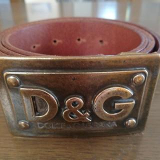 ドルチェアンドガッバーナ(DOLCE&GABBANA)のD&G 本革ベルト(ベルト)