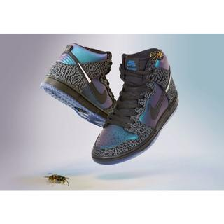 NIKE - US9 27cm NIKE SB DUNK HIGH BLACK HORNET