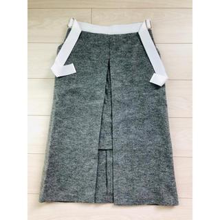 シェリー(CHERIE)のcherieウールスカート(ひざ丈スカート)