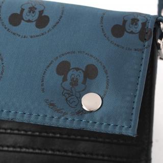 スタディオクリップ(STUDIO CLIP)のぱんだ様専用  ミッキーマウス 二つ折り財布 サックス(財布)