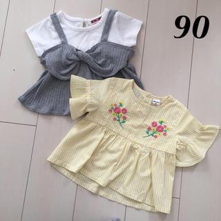 シマムラ(しまむら)の90 しまむら セット(Tシャツ/カットソー)