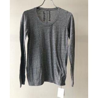 クロムハーツ(Chrome Hearts)のクロムマニア様専用 クロムハーツ ロング Tシャツ グレー レディース(Tシャツ(長袖/七分))