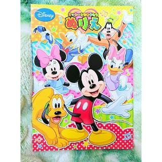 ディズニー(Disney)の【新品】ディズニー*ミッキー ぬりえ*塗り絵(趣味/スポーツ/実用)