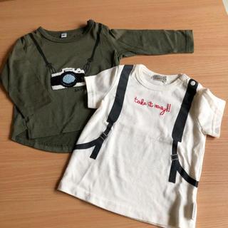 シマムラ(しまむら)のしまむら 長袖・半袖Tシャツセット 80(Tシャツ)
