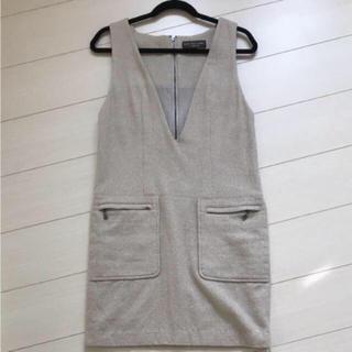 9b10bdeb42b32 ボディドレッシングデラックス(BODY DRESSING Deluxe)のボディドレッシングデラックス ジャンパースカート(ひざ. ひざ丈ワンピース