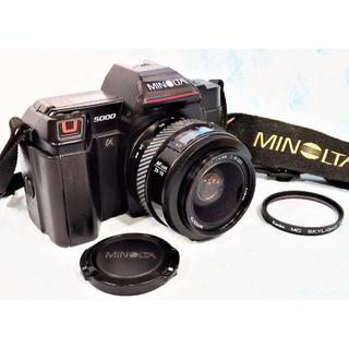 コニカミノルタ(KONICA MINOLTA)のミノルタ「MINOLTA α5000 」完動品!(フィルムカメラ)